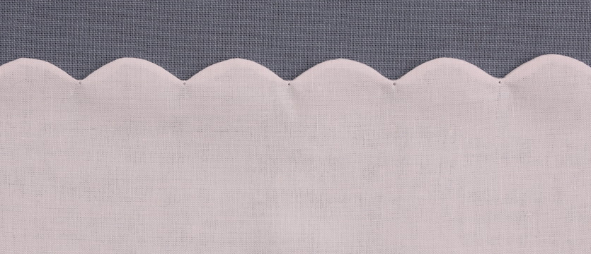 SCALLOP OUTLINE STITCH - Scallop