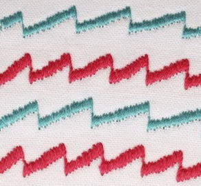 SATIN ANGLE STITCH - DECORATIVE