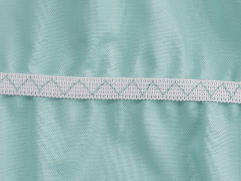 MULTI-STEP ZIGZAG STITCH - Elastic Insertion