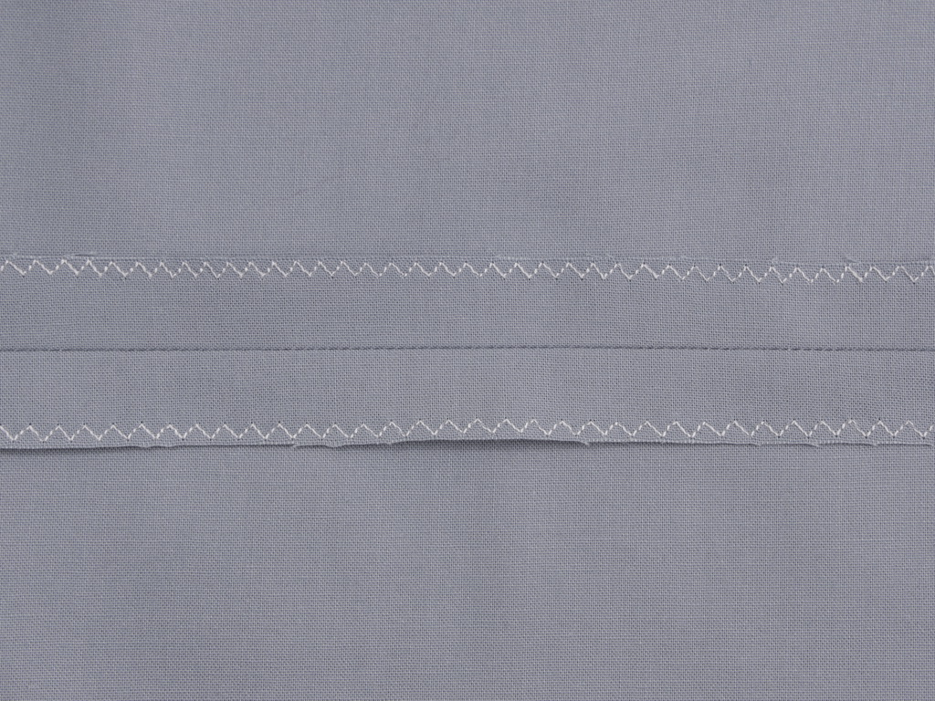 MULTI-STEP ZIGZAG STITCH -  Seam Finishing