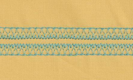 MOUNTAIN RANGE STITCH - DECORATIVE