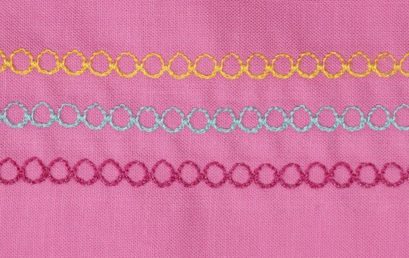 CIRCLE IN ARCH STITCH - DECORATIVE