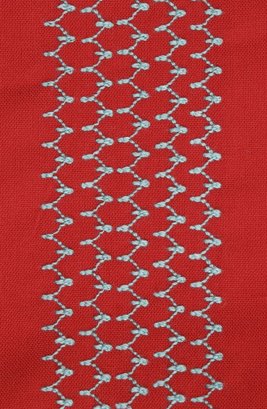 BIRD BEAK STITCH - DECORATIVE