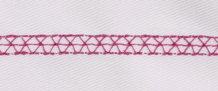 EDGED PRAIRIE POINT STITCH - DECORATIVE
