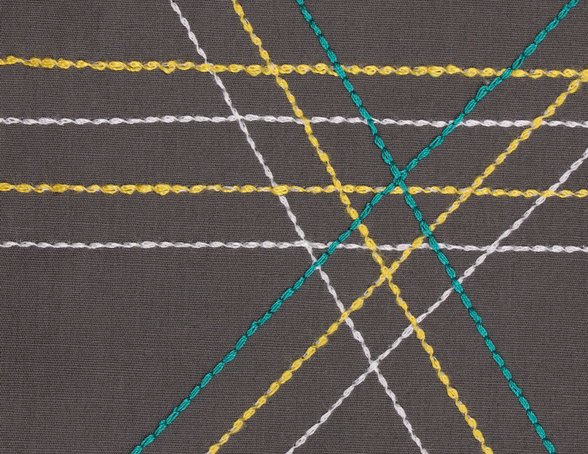 STRAIGHT STRETCH STITCH - Decorative Stitching