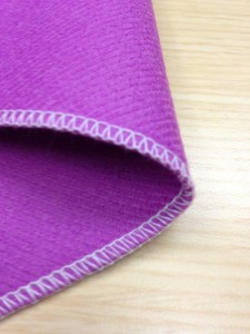 Narrow Hems 3-thread overlock stitching