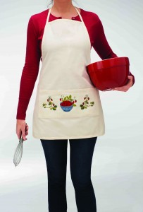 Apron Embroider design