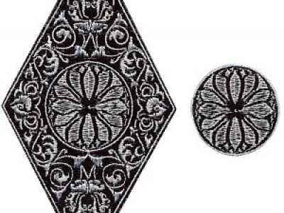 Medallions Free Embroidery Design