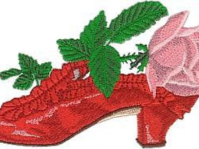 Rosemary's Shoe Free Embroidery Design