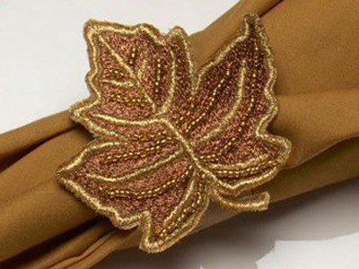 Maple Leaf Free Embroidery Design