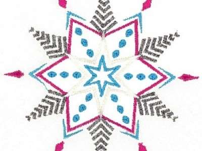 Snowflake Free Embroidery Design