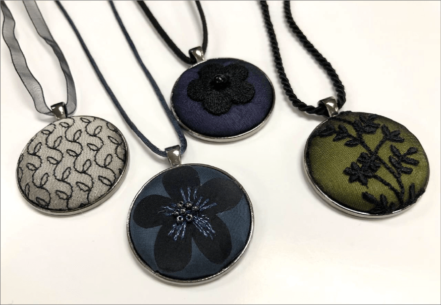 Button Cover Pendant Necklaces: Tips & Hints