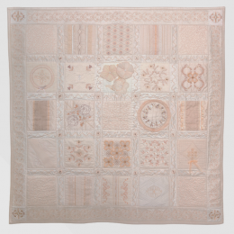 Monochromatic Heirloom Quilt