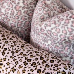 Faux Fur Pillow Project in Leopard Print