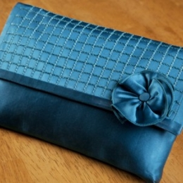 Evening Clutch (Chainstitched Embellished Clutch)